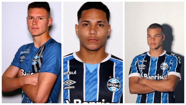 Jogadores da base do Grêmio reforçam o elenco do Rubro para o Gauchão