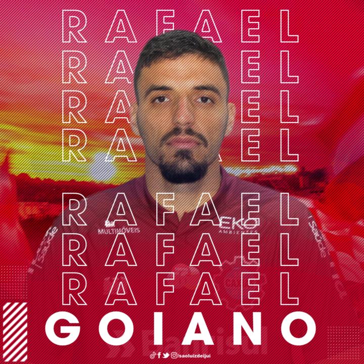 São Luiz anuncia a contratação de Rafael Goiano