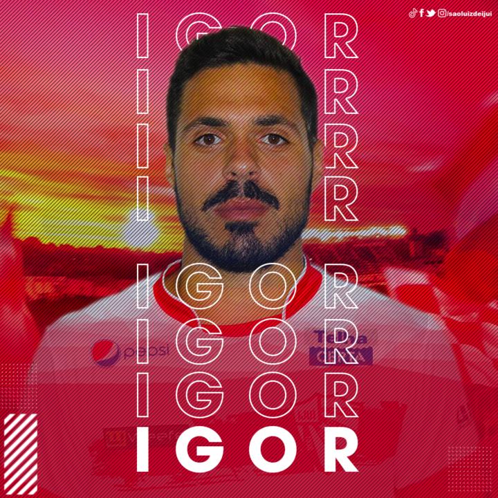 Rubro confirma mais dois nomes: o meia atacante Igor e o lateral direito Vitinho