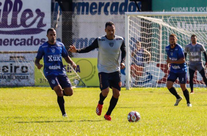Rubro vence jogo-treino contra o Santa Cruz-RS por 2 a 1