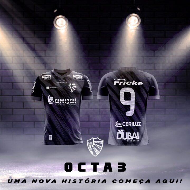 OCTA3: a imponente nova camisa do São Luiz